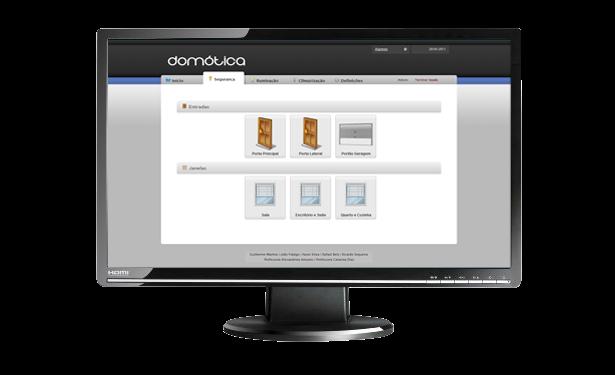 Domótica - Aplicação Cliente PHP