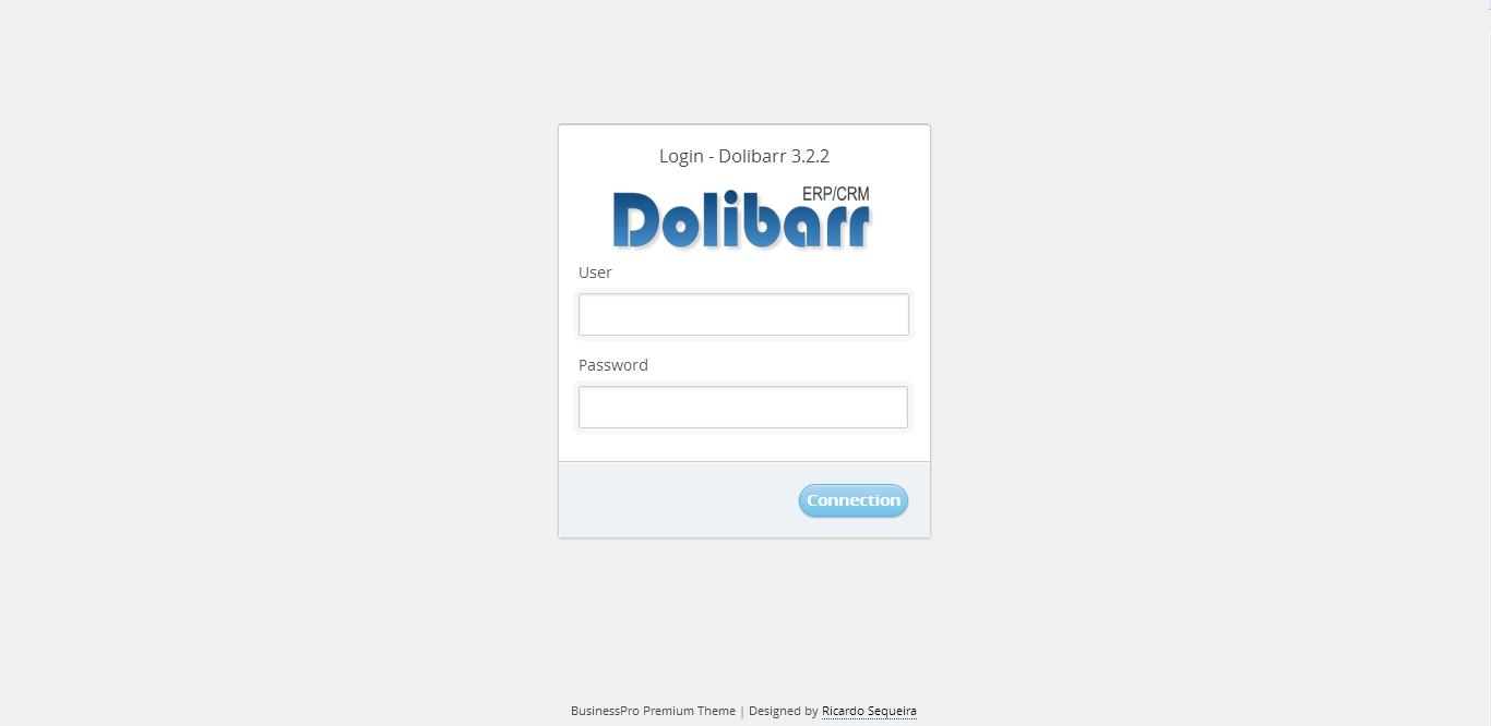 BlueDesign Dolibarr Theme
